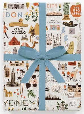 Bon Voyage Wrap - Geschenkpapier