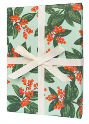 Winter Berries Wrap - Geschenkpapier