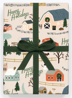 Christmas Tree Farm Wrap Geschenkpapier Bögen