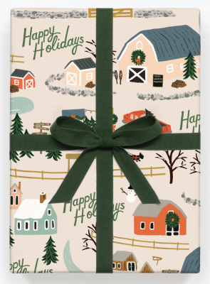 Christmas Tree Farm Wrap Geschenkpapier Bögen