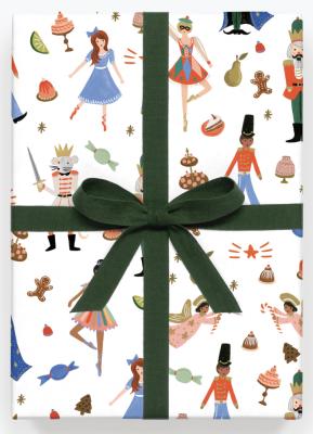 Nutcracker Wrap - Geschenkpapier Bögen