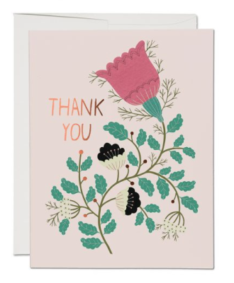 Lovely Tulips Card - Red Cap Cards